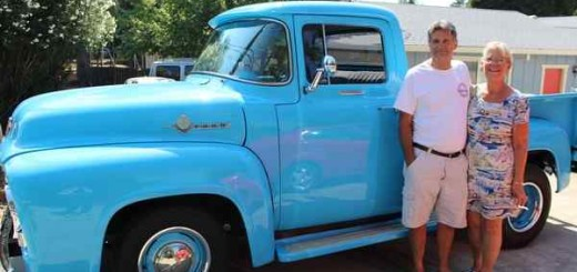 Ford F100, он же Big Bad Baby Blue