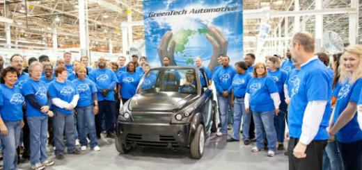 Электромобиль GreenTech