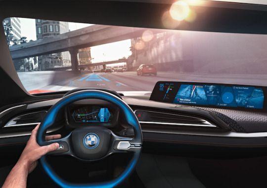 i Vision, BMW, 2016 год