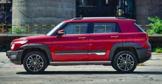 Модель BJ20, бренд Beijing Auto