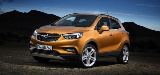Opel Mokka X, 2016-2017 год