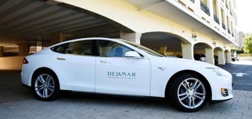Model S, автомобильный парк отеля