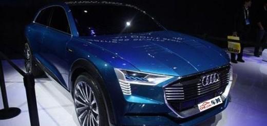 Неизвестный концепт Audi на автовыставке в Китае (2016)