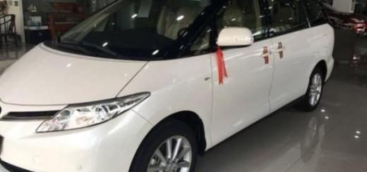 Гибрид Toyota Previa, 2016 год