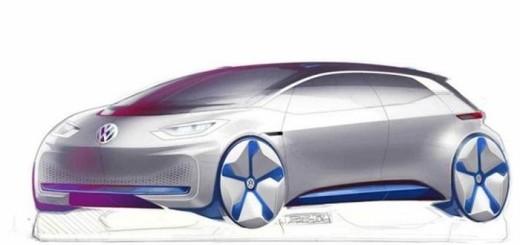 Электро-хэтчбек Volkswagen