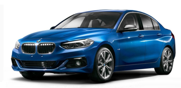 BMW 1-Series, седан, 2017 модельный год
