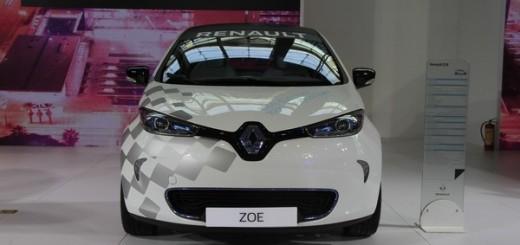 Renault ZOE с опцией автономного вождения
