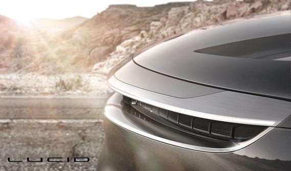 Прототип автомобиля Lucid Motors