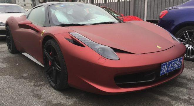 Ferrari 458, тюнинг