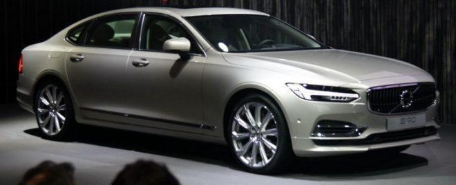 Volvo S90, удлинённая колёсная база