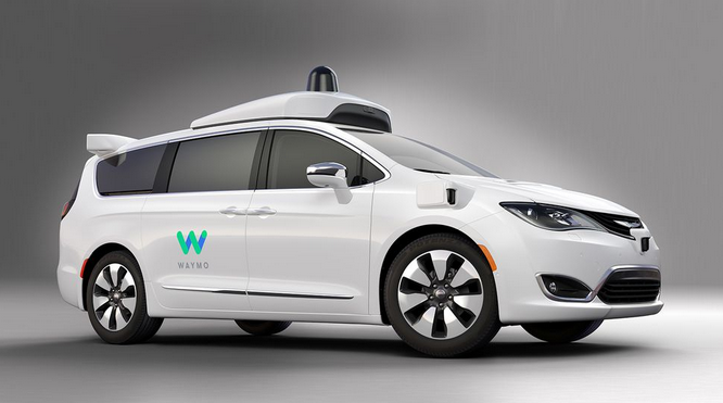Pacifica Hybrid, Chrysler + Waymo
