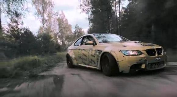 BMW M3, дрифт, декабрь 2016-го
