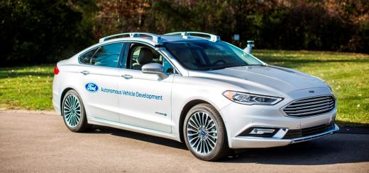 Седан Fusion, автономная модель, 2016-2017