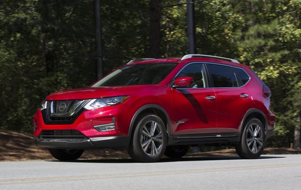 Nissan Rogue, гибрид