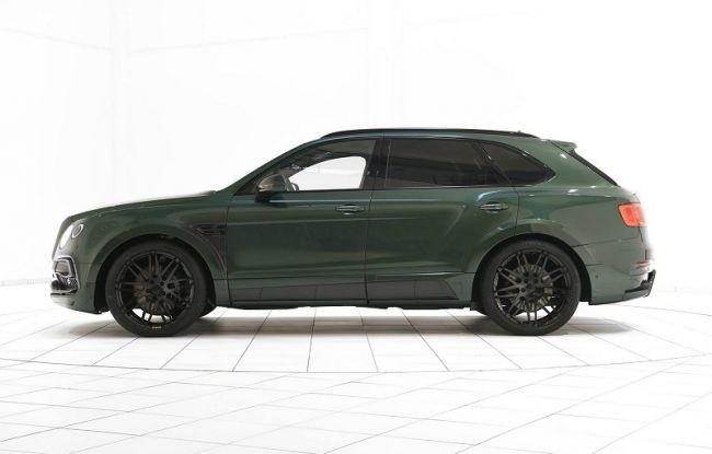 Bentley Bentayga в цвете Verdant Green