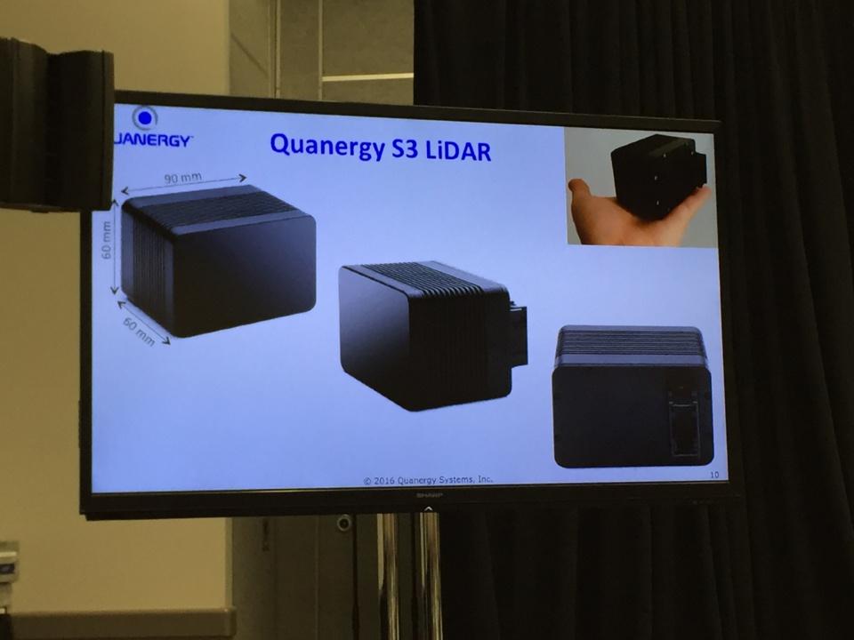 Презентация системы Quanergy S3