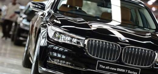 BMW 7, 2017 год