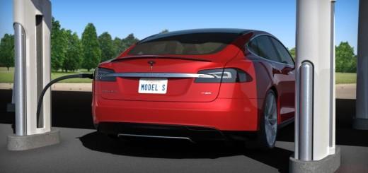 Быстрый зарядник Tesla Motors