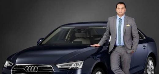 Audi A4, 2017 год