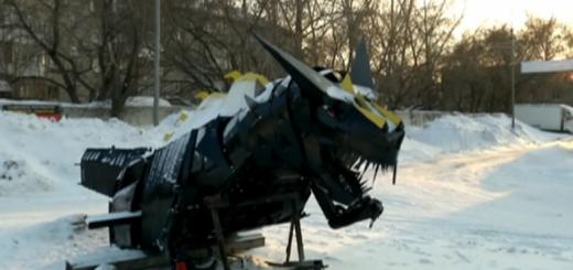 Авто-дракон, Новосибирск, 12.02.2017