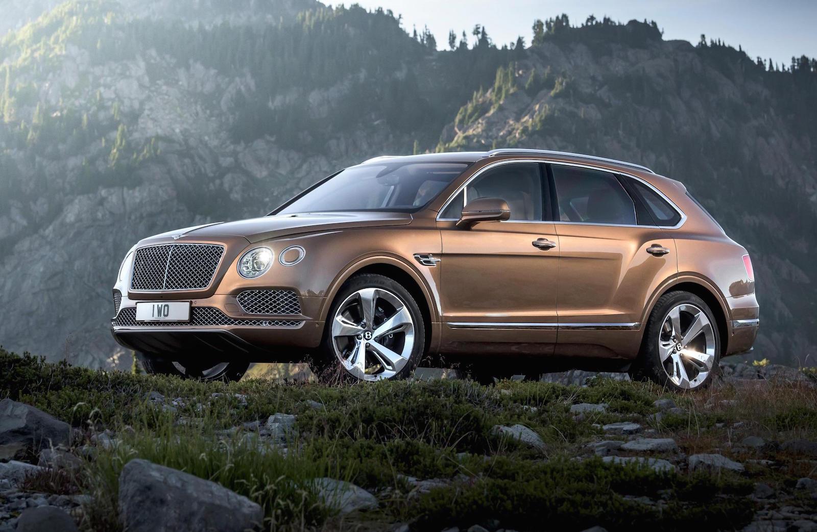 Bentley Bentayga, кузов на 5 мест