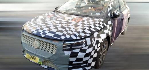 Компактный седан MG, 2017 год