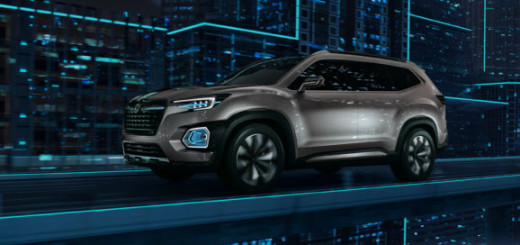 Концепт Subaru Viziv 7, 2016 год