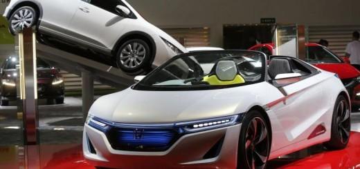 Электрический концепт Honda Motor, 2012 год