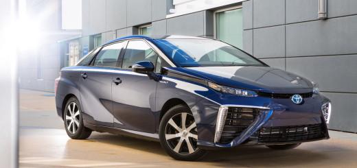 Toyota Mirai, цвет синий