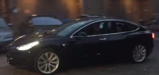 Фото из соцсетей, Tesla Model 3