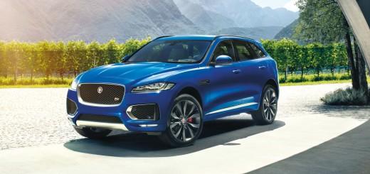 Бренд Jaguar, модель F-Pace