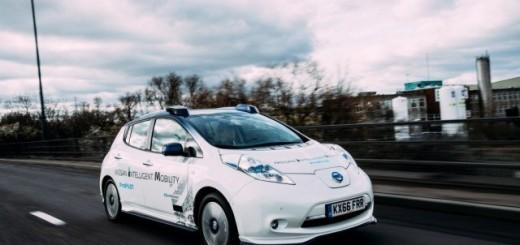 Nissan Leaf, автономный