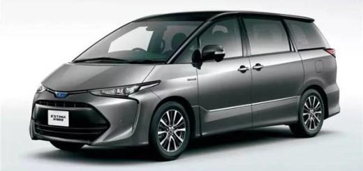 Toyota Estima, 2017 год