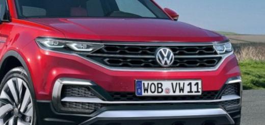 Бренд Volkswagen, модель T-Cross