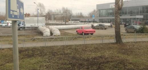 ГАЗ-2410, цвет розовый
