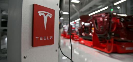 Логотип Tesla Inc., 2017 год