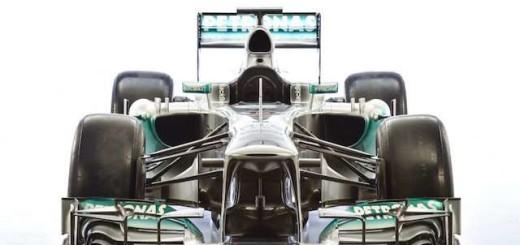 F1 W04, Mercedes, 2013 год
