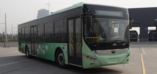 Автобусы с двигателем YC6J200-50