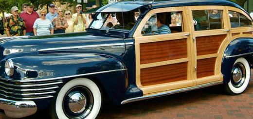 1942 Chrysler Town & Country, 9-местный