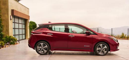 Nissan Leaf-2018
