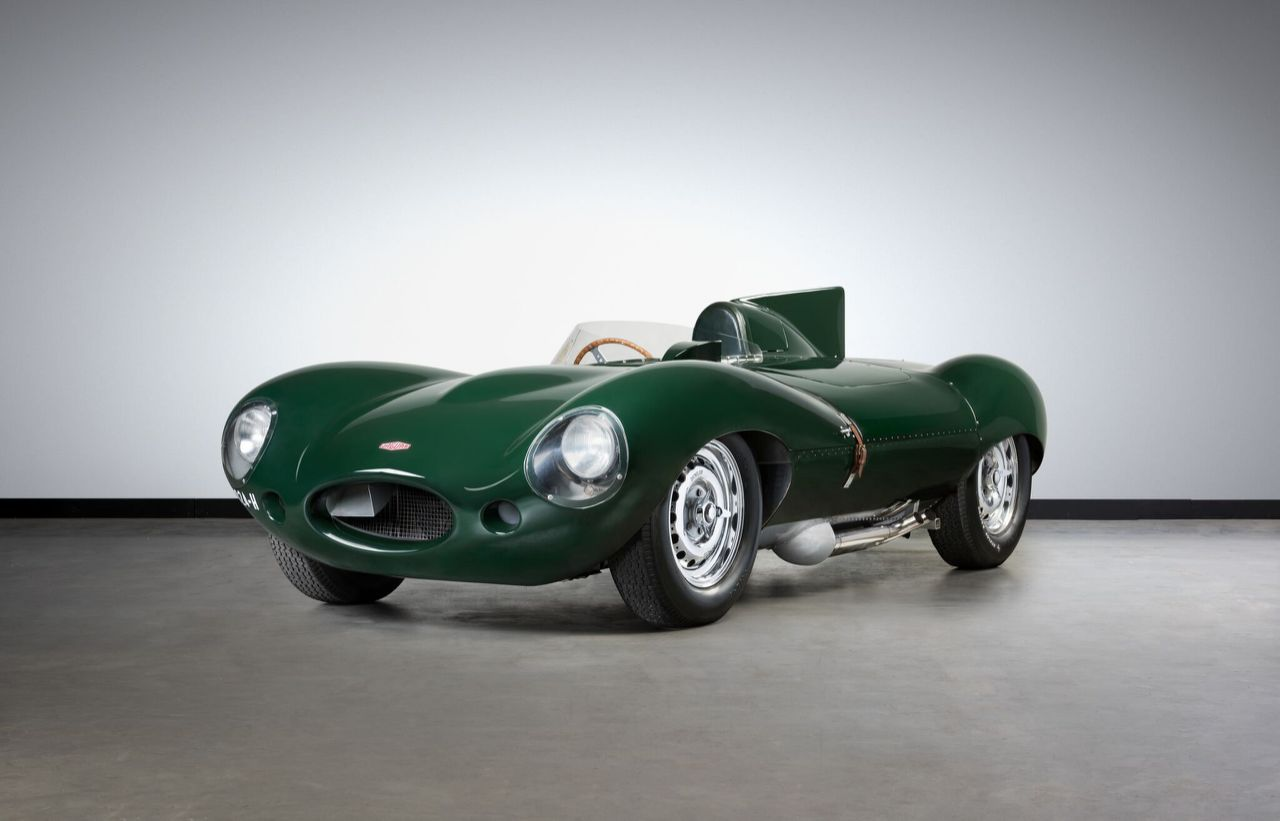 Jaguar D-Type 1955 г.в.