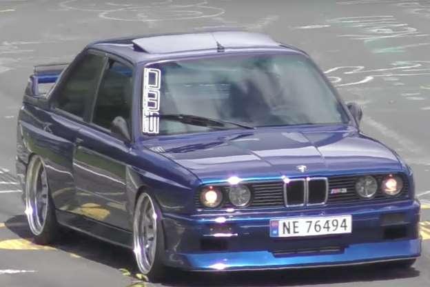 BMW M3 с двигателем RB26DETT